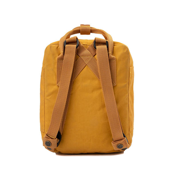 alternate view Fjallraven Kanken Mini Backpack - Ochre YellowALT2