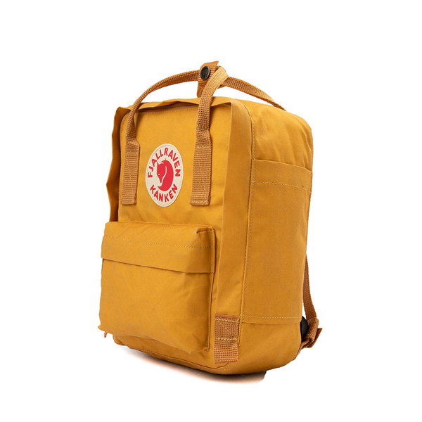 alternate view Fjallraven Kanken Mini Backpack - Ochre YellowALT4