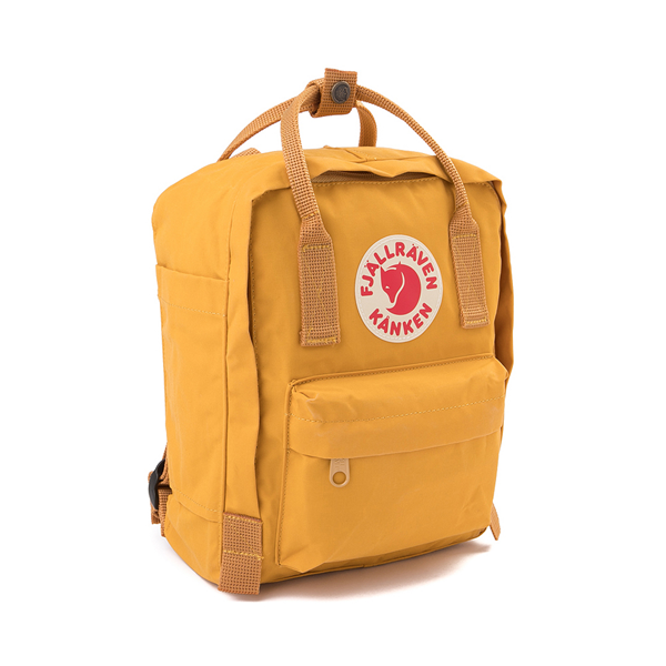 alternate view Fjallraven Kanken Mini Backpack - Ochre YellowALT4B