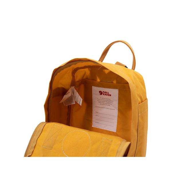 alternate view Fjallraven Kanken Mini Backpack - Ochre YellowALT3