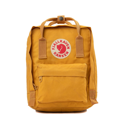 Main view of Fjallraven Kanken Mini Backpack - Ochre Yellow