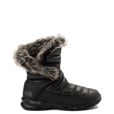 Main view of Womens The North Face Thermoball™ Microbaffle Bootsie II Boot - Black