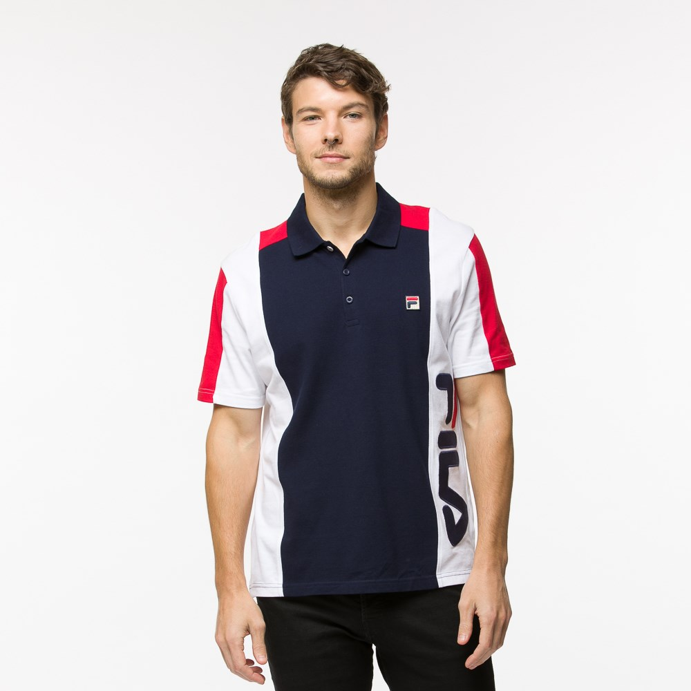 Mens Fila Apache Polo