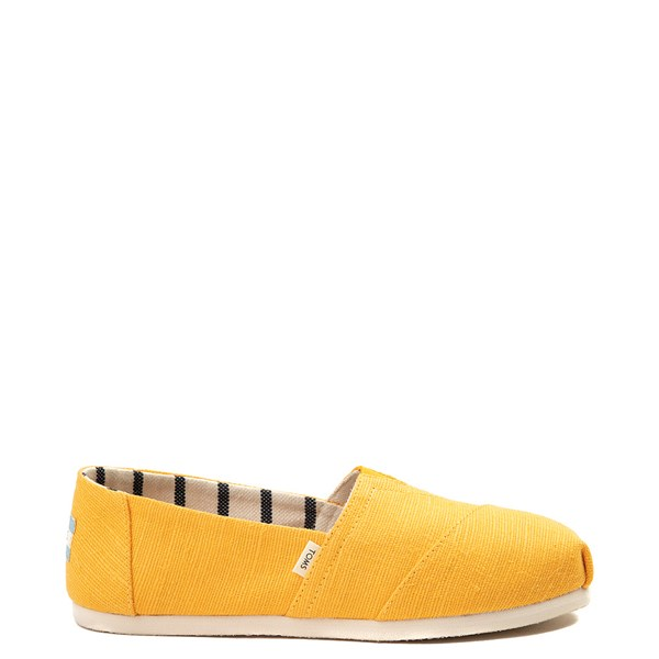 Womens TOMS Classic Slip On Casual Shoe - Yellow