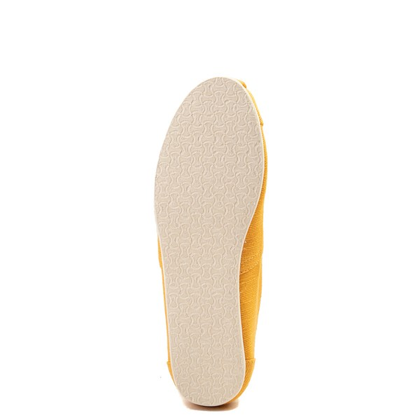 alternate view Womens TOMS Classic Slip On Casual Shoe - YellowALT5