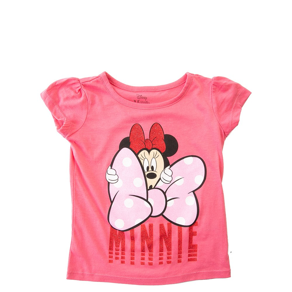 Girls Toddler Minnie Mouse Bow Tee