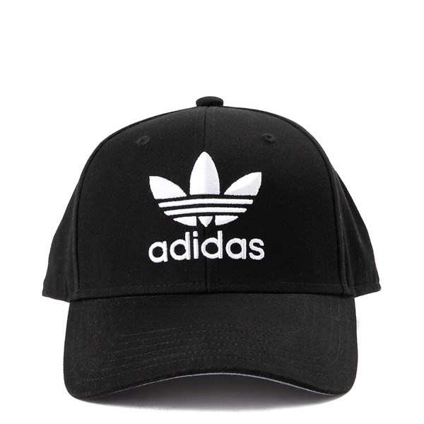 Main view of adidas Structure Precurve Hat - Black / White