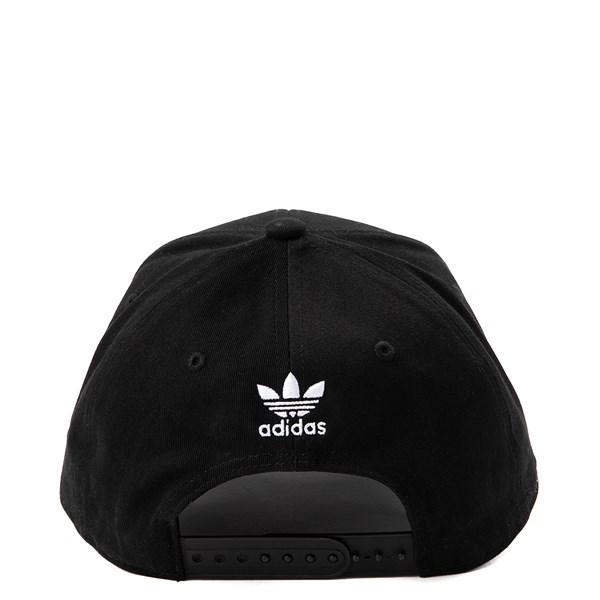 alternate view adidas Structure Precurve Hat - Black / WhiteALT1