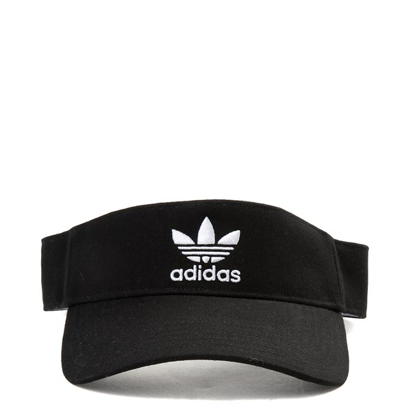 Main view of adidas Originals Trefoil Visor - Black / White