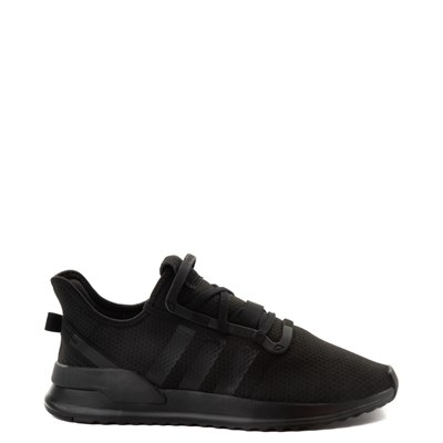 Main view of Mens adidas U_Path Run Athletic Shoe - Black Monochrome
