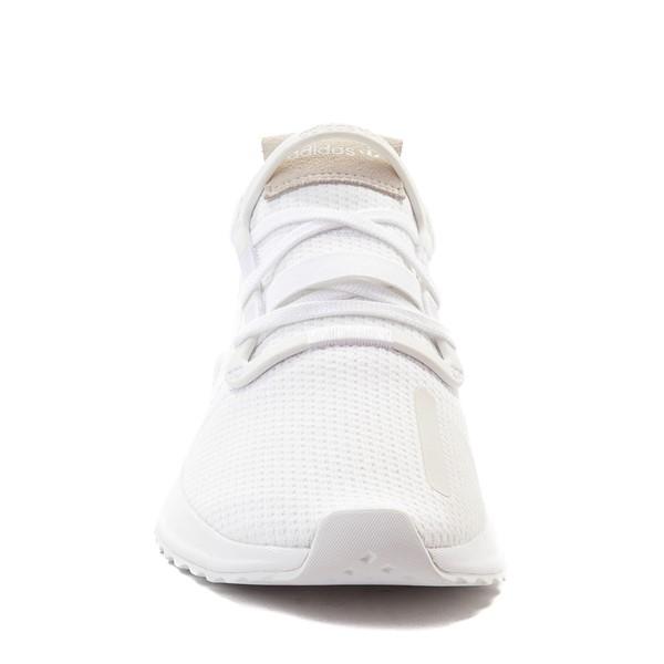 alternate view Mens adidas U_Path Run Athletic Shoe - WhiteALT4