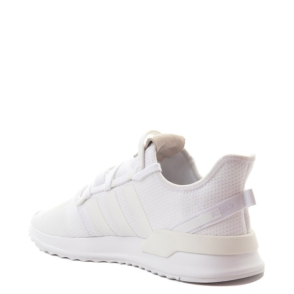 alternate view Mens adidas U_Path Run Athletic Shoe - WhiteALT2