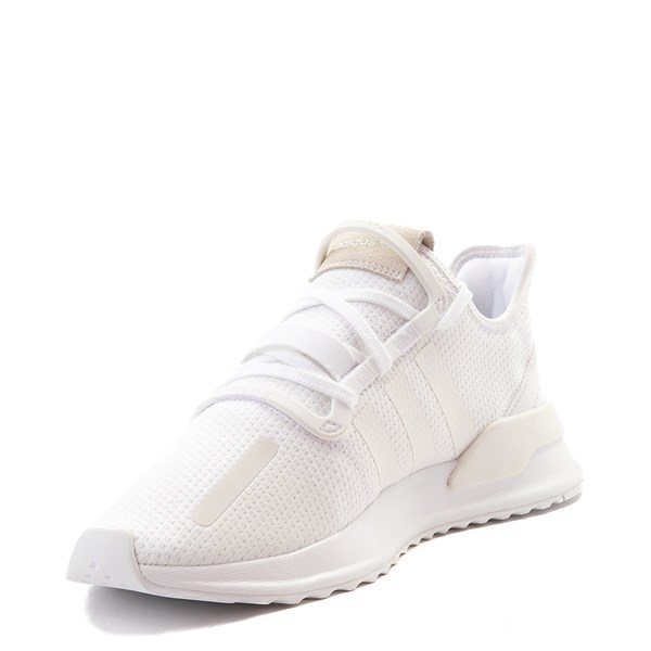 alternate view Mens adidas U_Path Run Athletic Shoe - WhiteALT3