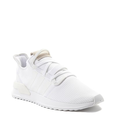 Alternate view of Mens adidas U_Path Run Athletic Shoe - White
