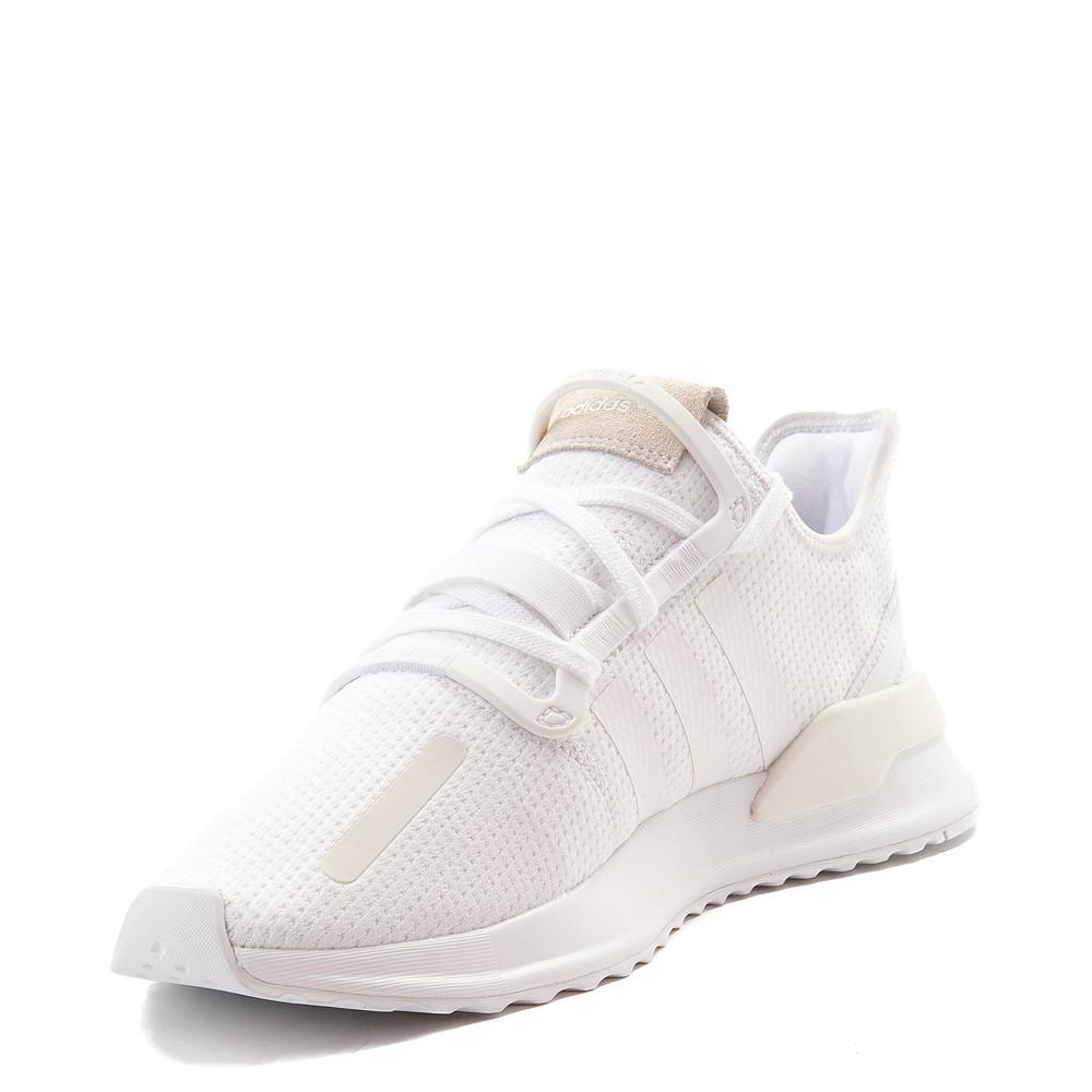 Mens adidas U_Path Run Athletic Shoe - White