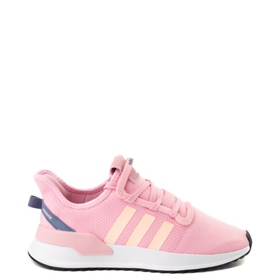 Main view of Womens adidas U_Path Run Athletic Shoe - Pink