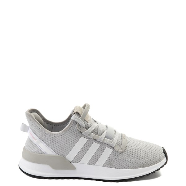 Womens adidas U_Path Run Athletic Shoe - Gray / White
