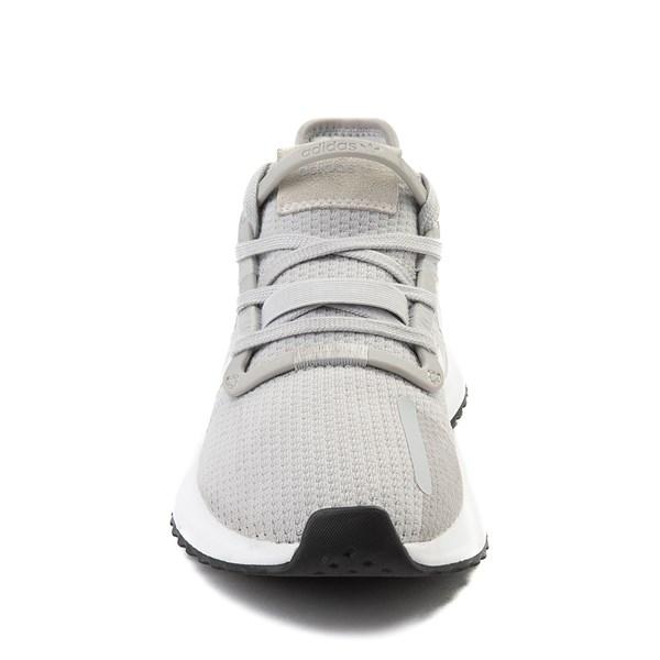 alternate view Womens adidas U_Path Run Athletic Shoe - Gray / WhiteALT4