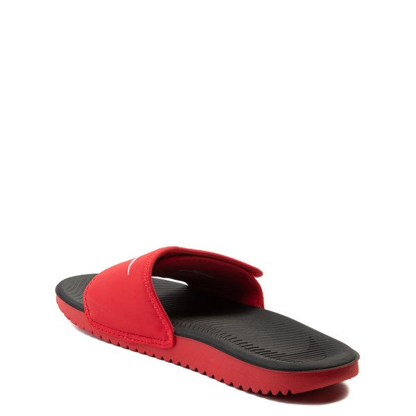 alternate view Nike Kawa Adjust Slide Sandal - Little Kid / Big KidALT2