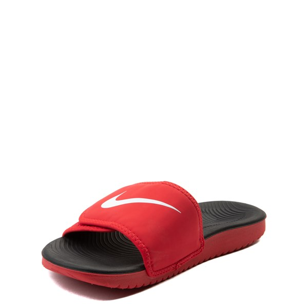 alternate view Nike Kawa Adjust Slide Sandal - Little Kid / Big KidALT3