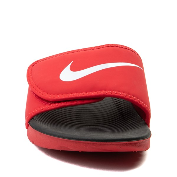 alternate view Nike Kawa Adjust Slide Sandal - Little Kid / Big KidALT4