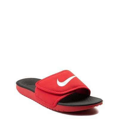 Alternate view of Nike Kawa Adjust Slide Sandal - Little Kid / Big Kid