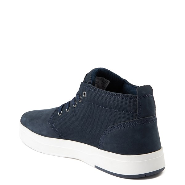 alternate view Mens Timberland Davis Square Chukka Boot - NavyALT2