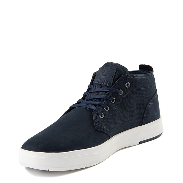 alternate view Mens Timberland Davis Square Chukka Boot - NavyALT3
