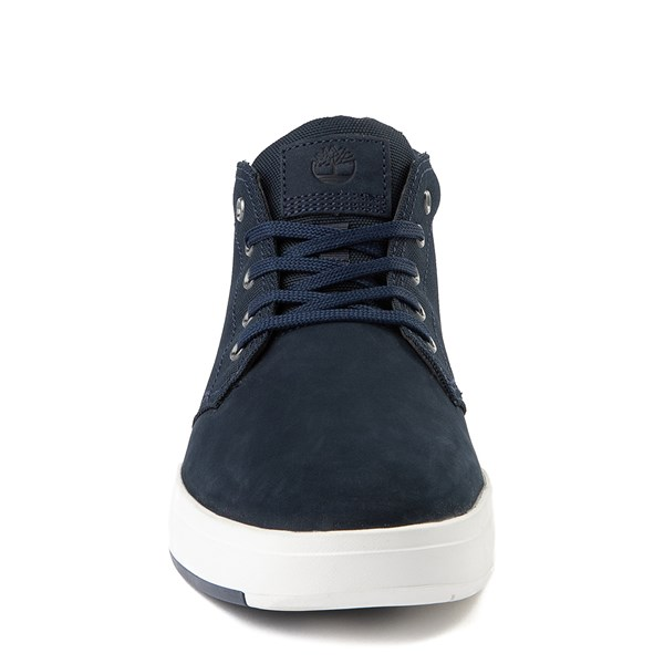 alternate view Mens Timberland Davis Square Chukka Boot - NavyALT4