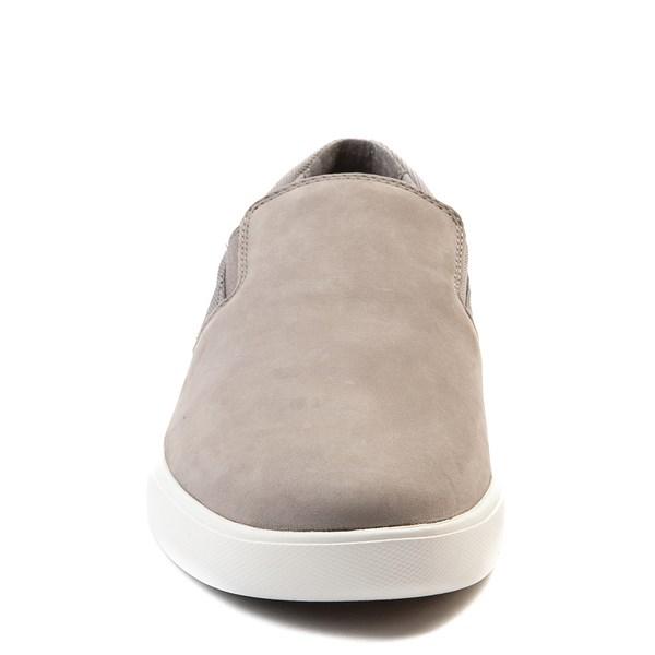 alternate view Mens Timberland Groveton Slip On Casual Shoe - GrayALT4