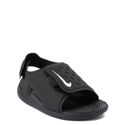 Alternate view of Nike Sunray Adjust 5 Sandal - Baby / Toddler - Black