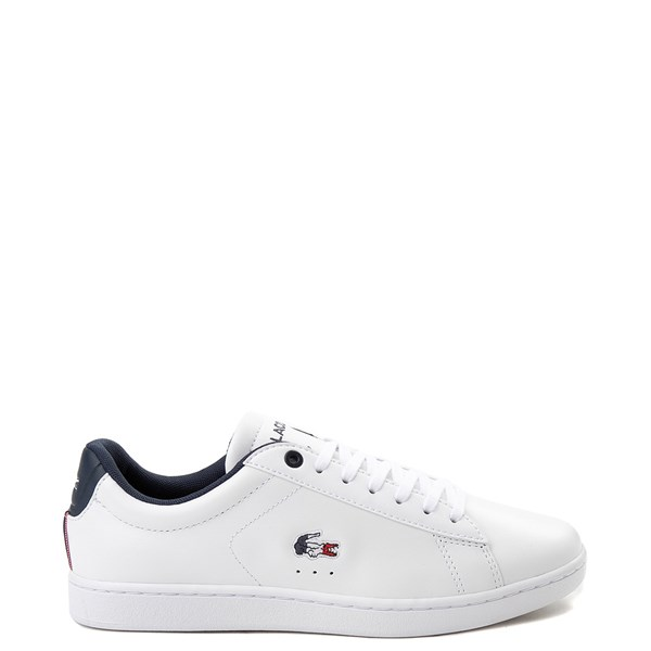 Womens Lacoste Carnaby Athletic Shoe - White / Navy