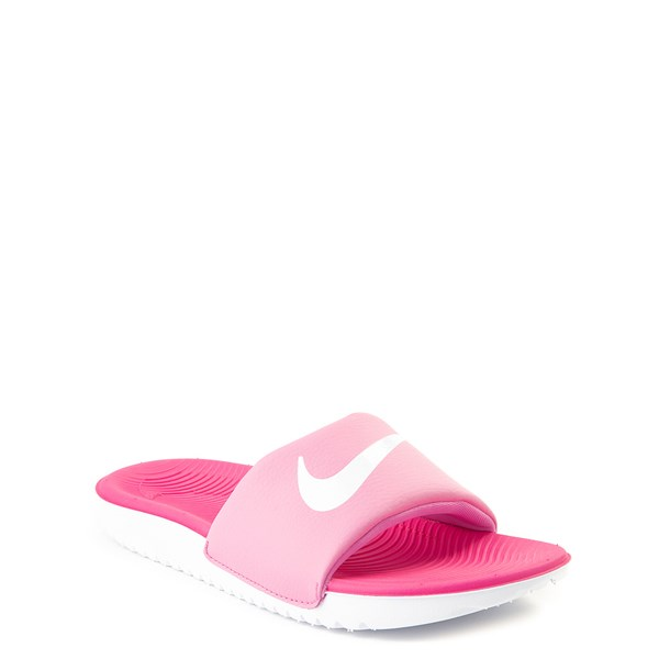 alternate view Nike Kawa Slide Sandal - Little Kid / Big KidALT1