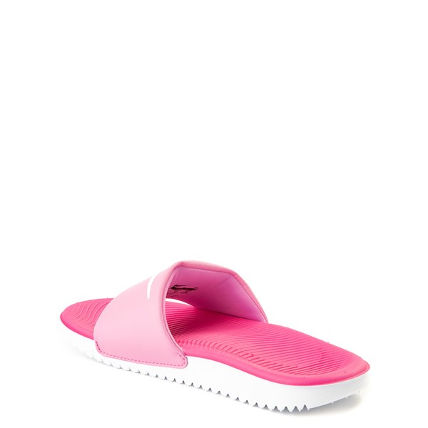 alternate view Nike Kawa Slide Sandal - Little Kid / Big KidALT2