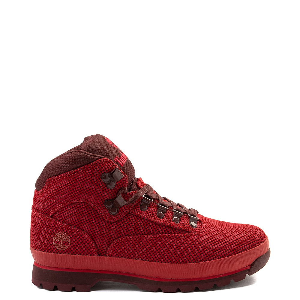 Mens Timberland Euro Hiker Cordura® Boot - Red