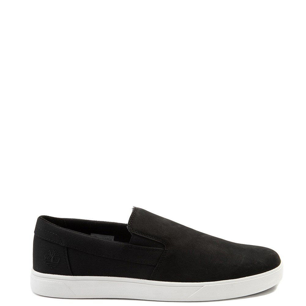 Mens Timberland Groveton Slip On Casual Shoe - Black