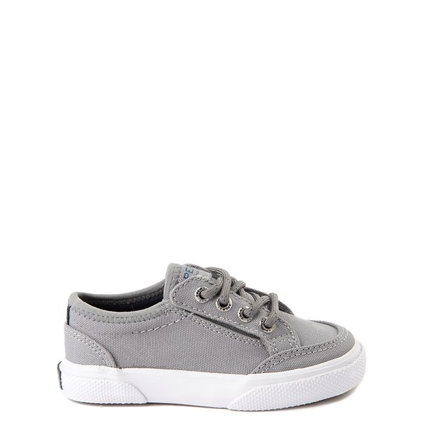 Sperry Top-Sider Deckfin Boat Shoe - Toddler / Little Kid - Gray