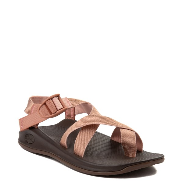 alternate view Womens Chaco Z/Boulder 2 Sandal - Metallic RoseALT1