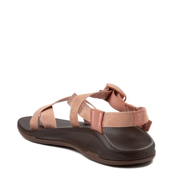 alternate view Womens Chaco Z/Boulder 2 Sandal - Metallic RoseALT2