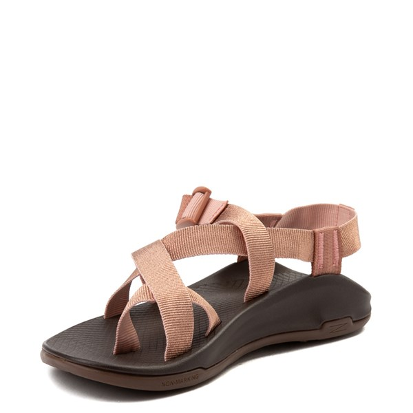 alternate view Womens Chaco Z/Boulder 2 Sandal - Metallic RoseALT3