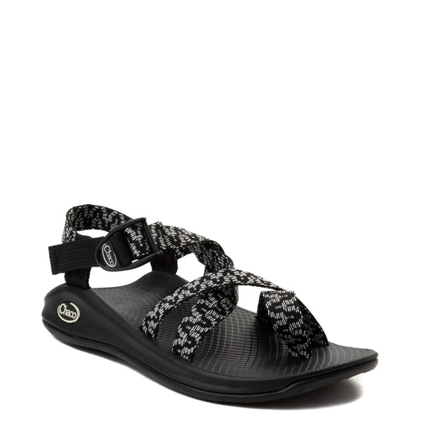 alternate view Womens Chaco Z/Boulder 2 Sandal - Black / WhiteALT1