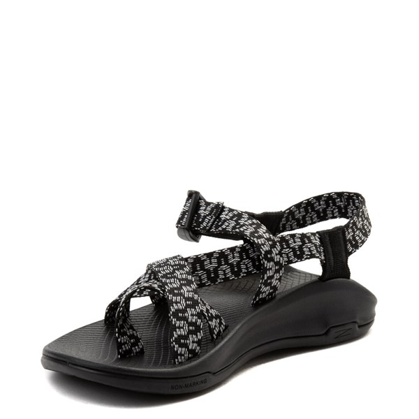 alternate view Womens Chaco Z/Boulder 2 Sandal - Black / WhiteALT3