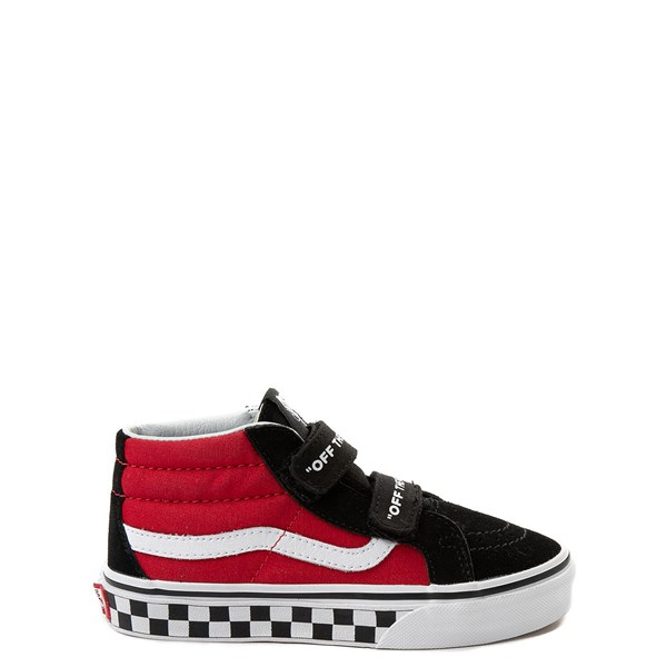 Vans Sk8 Mid Reissue V Logo Pop Skate Shoe - Little Kid