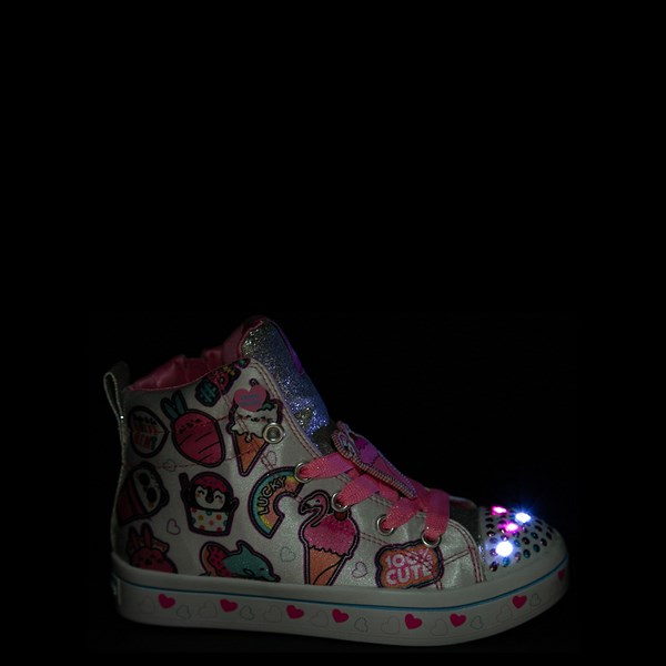 Alternate view of Skechers Twinkle Toes Twi-Lites Sweets Sneaker - Little Kid