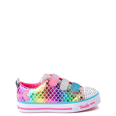 Main view of Skechers Twinkle Toes Mermaid Sneaker - Little Kid
