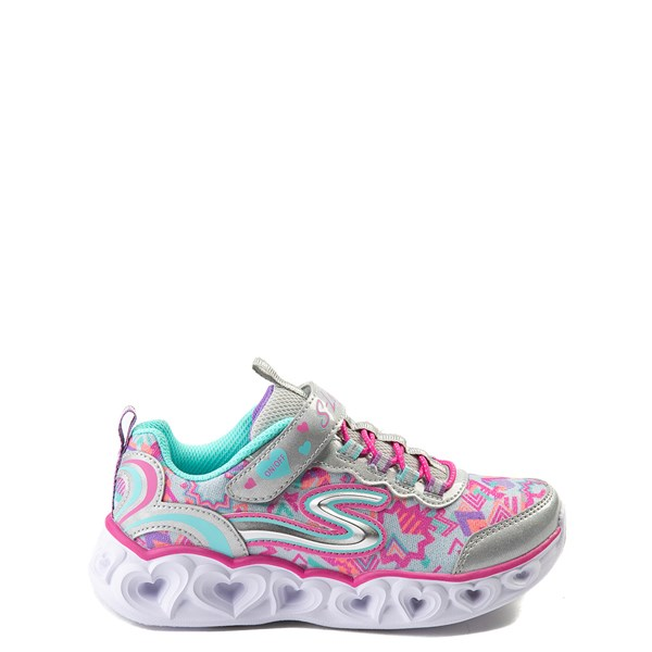 Skechers S Lights Hearts Sneaker - Little Kid