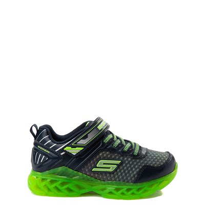 Youth Skechers S Lights Flex Charge Blastistix Sneaker