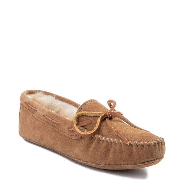Alternate view of Womens Minnetonka Sheepskin Softsole Moccasin Slipper