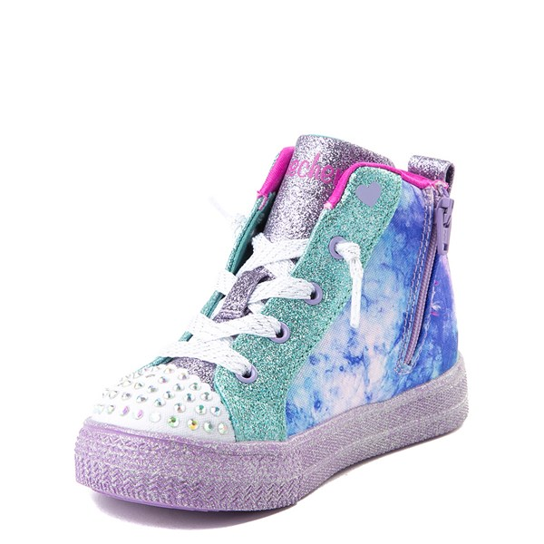 alternate view Skechers Twinkle Toes Shuffle Brights Sneaker - ToddlerALT3
