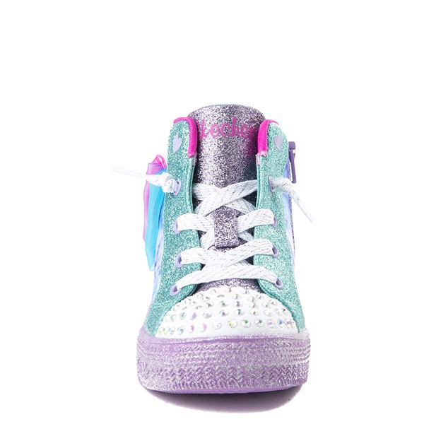 alternate view Skechers Twinkle Toes Shuffle Brights Sneaker - ToddlerALT4